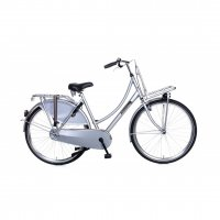 Hollandrad Popal ``Daily Dutch Basic`` 28Zoll Hollandfahrrad Damenrad Rh.: 57 cm /silber/