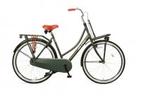 Hollandrad Altec ``URBAN`` 28 Zoll, 1 Gang, Rh. 50 cm Damenrad Fahrrad Transportrad /armee-grün/ Model 2019