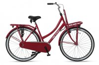 Hollandrad Altec ``URBAN`` 28 Zoll, 1 Gang, Rh. 53 cm Damenrad Fahrrad Transportrad /rot/