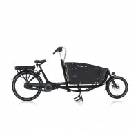 Elektrotransportrad E-Bike Vogue Carry 2 BAKFIETS 7 Gang 26`` Mittelmotor Bafang /schw-schw/